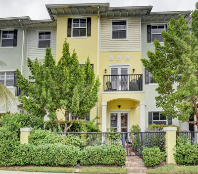 Delray Beach Townhouse For Sale: 232 S Latitude Circle