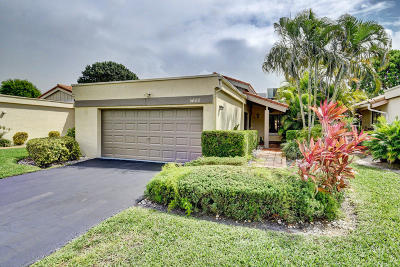 Boynton Beach Single Family Home For Sale: 5600 Piping Rock Drive