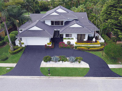 Boca Raton Single Family Home For Sale: 7812 Mandarin Drive