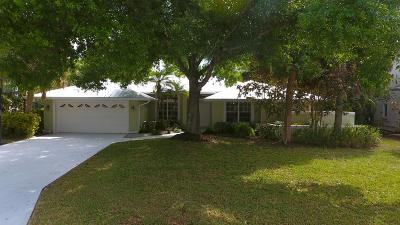 Palm City Single Family Home Contingent: 4516 SW Oakhaven Lane