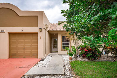 Boca Raton Single Family Home For Sale: 18760 Jolson Avenue #7