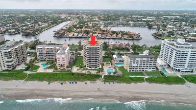 Highland Beach Condo For Sale: 2917 S Ocean Boulevard #301