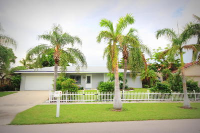Boca Raton Single Family Home For Sale: 8021 Santa Fe Trail