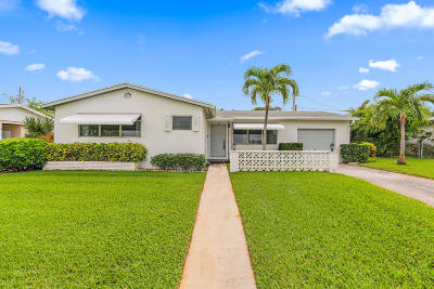 North Palm Beach Single Family Home For Sale: 416 Inlet Road