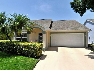 Port Saint Lucie Single Family Home For Sale: 455 NW Gibraltar Court NW