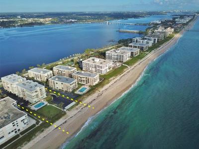 Palm Beach Condo For Sale: 3230 S Ocean Boulevard #A102