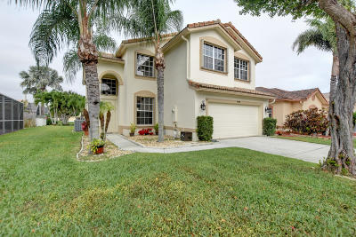 Boynton Beach Single Family Home For Sale: 7758 Colony Lake Drive