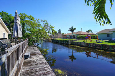 Lake Worth Single Family Home For Sale: 6626 Riparian Road