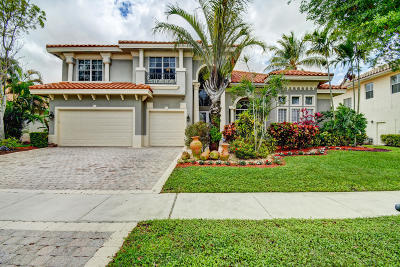 Boca Raton Single Family Home For Sale: 7110 Via Mediterrania