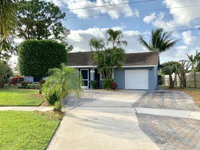 West Palm Beach Single Family Home Contingent: 5096 El Claro S