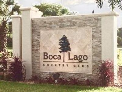 Boca Raton Rental For Rent: 21411 Juego Circle #32h