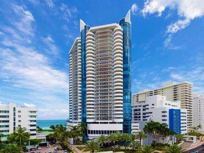 Miami Beach Condo For Sale: 6301 Collins Avenue #Ph-7