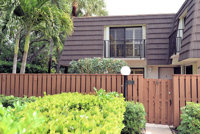 Jupiter Townhouse For Sale: 1137 11th Court