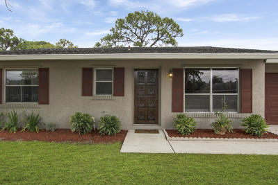 Lake Worth Single Family Home For Sale: 4925 Neros Drive