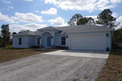 Loxahatchee Single Family Home For Sale: 16858 72nd Road