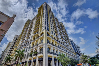 West Palm Beach Condo For Sale: 701 S Olive Avenue #721