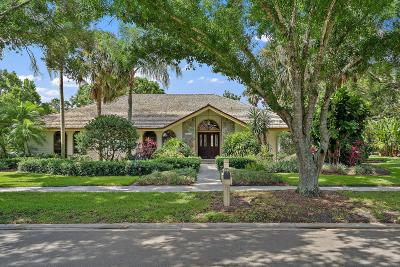 Jupiter Single Family Home For Sale: 18755 Big Cypress Drive
