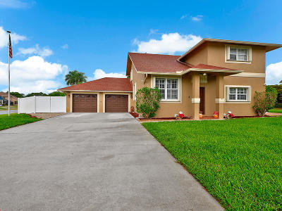 Boynton Beach FL Single Family Home For Sale: $375,000