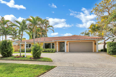 Boca Raton Single Family Home For Sale: 1334 SW 14th Street