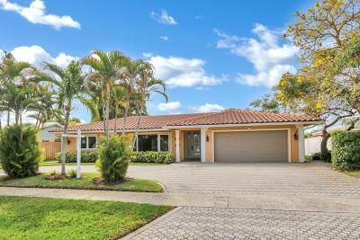 Boca Raton FL Single Family Home For Sale: $630,000