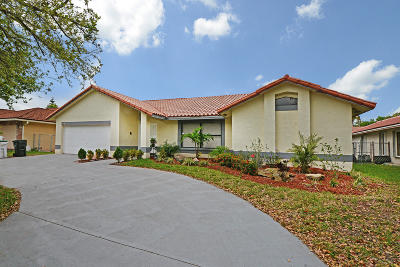 Coconut Creek Single Family Home For Sale: 5127 NW 48th Avenue