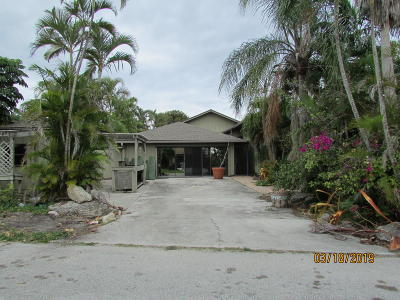 Stuart Single Family Home For Auction: 5315 SE Orange Street
