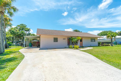 Fort Pierce Single Family Home For Sale: 6505 Fort Pierce Boulevard