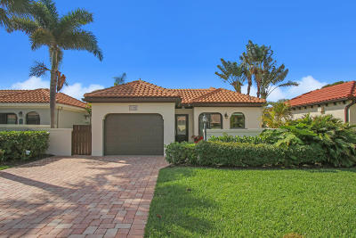 Jupiter Single Family Home For Sale: 1480 Via Cameron