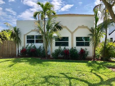 West Palm Beach Single Family Home For Sale: 522 Upland Road
