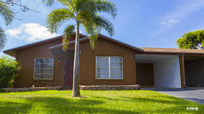 Boynton Beach FL Single Family Home For Sale: $199,900