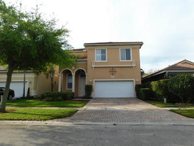 West Palm Beach Single Family Home For Sale: 236 Gazetta Way