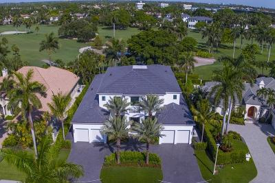 Boca Raton Single Family Home For Sale: 1815 Sabal Palm Drive
