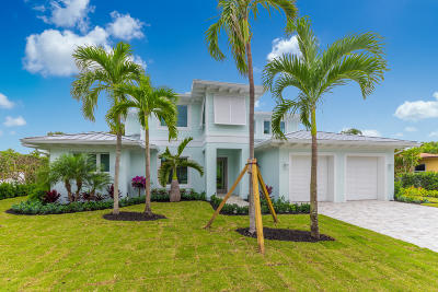 Jupiter Single Family Home For Sale: 168 Beacon Lane
