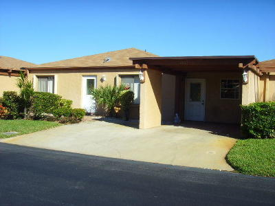 Delray Beach FL Single Family Home For Sale: $179,900