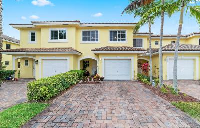 West Palm Beach Townhouse For Sale: 1170 Imperial Lake Road