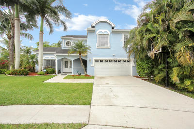 Boca Raton Single Family Home For Sale: 12229 Quilting Lane