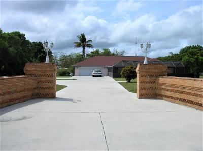 Fort Pierce Single Family Home For Sale: 5015 Buchanan Drive
