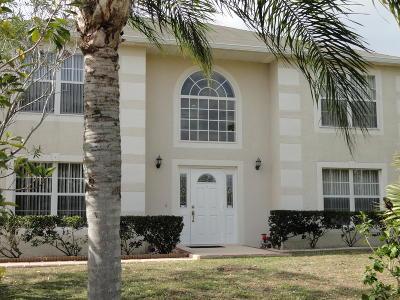 Port Saint Lucie Single Family Home For Sale: 1142 SE Floresta Drive