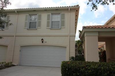 West Palm Beach Townhouse For Sale: 2091 Tigris Drive