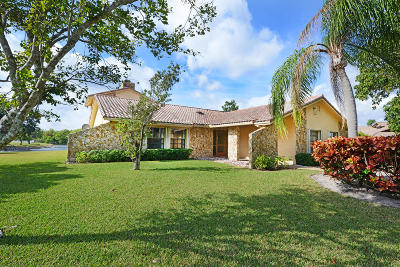 Boca Raton Single Family Home For Sale: 21621 Reflection Lane