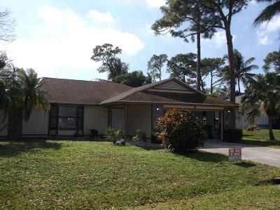 Port Saint Lucie FL Single Family Home Contingent: $220,000