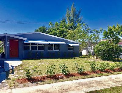 Delray Beach FL Single Family Home For Sale: $215,000