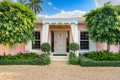 Palm Beach Single Family Home For Sale: 280 Sanford Avenue