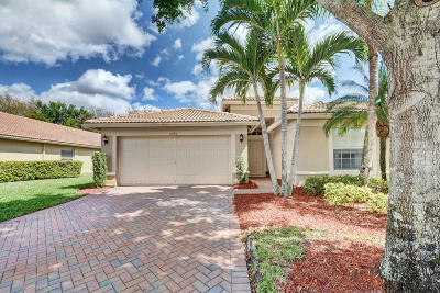 Boynton Beach FL Single Family Home For Sale: $384,500