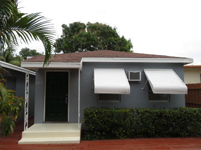 Lake Worth, Lakeworth Rental For Rent: 622 J Street