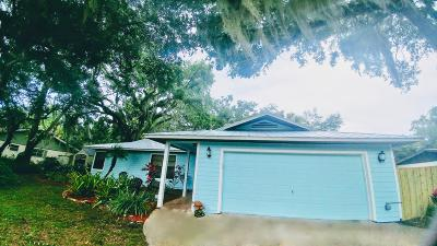 Fort Pierce Single Family Home For Sale: 3208 River Drive