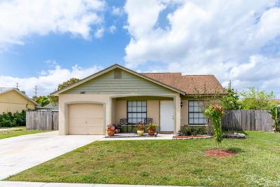 Royal Palm Beach Single Family Home For Sale: 1387 Denlow Lane