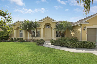 Port Saint Lucie Single Family Home For Sale: 1180 SE Palm Beach Road