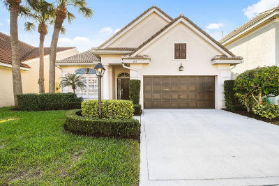 Palm Beach Gardens Single Family Home For Sale: 105 Princewood Lane
