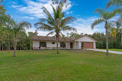 West Palm Beach Single Family Home For Sale: 13748 41st Lane